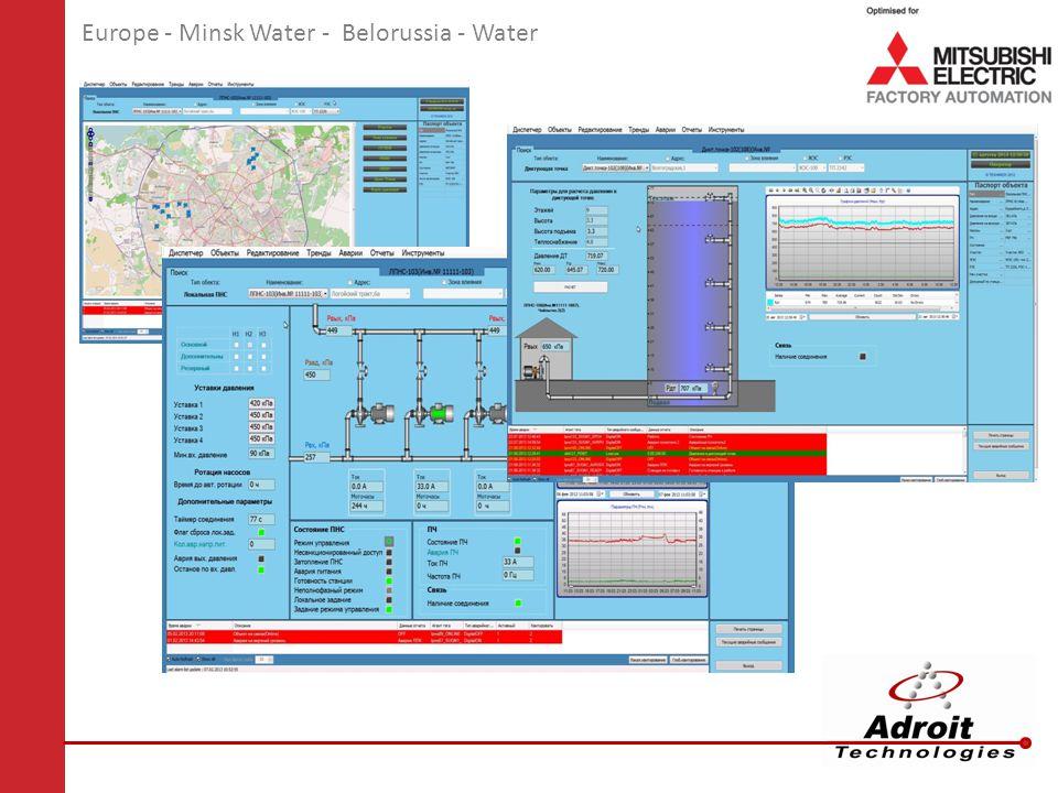Europe - Minsk Water - Belorussia - Water
