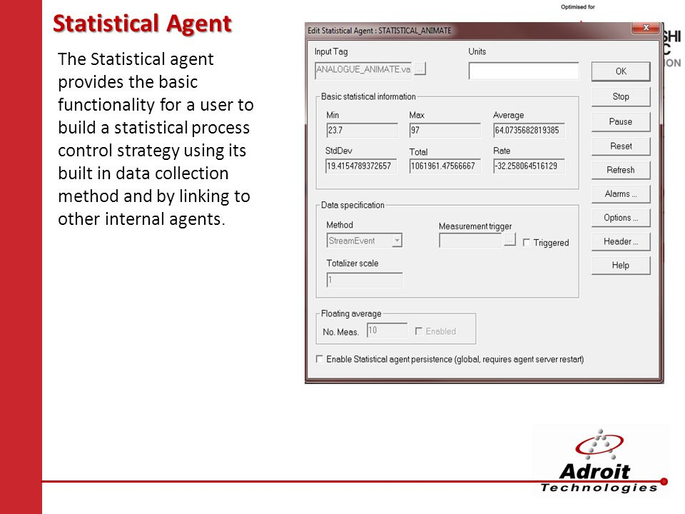 Statistical Agent