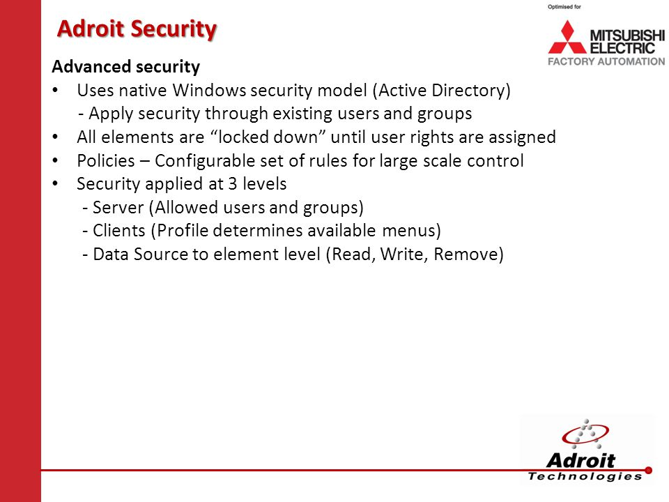 Adroit Security Advanced security