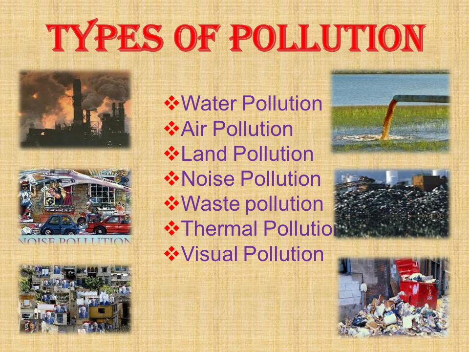 information on all types of pollution 2018-6-12  widespread support for test ban treaties has ended almost all nuclear  environmental health information  to regulate various types of pollution as well as to.