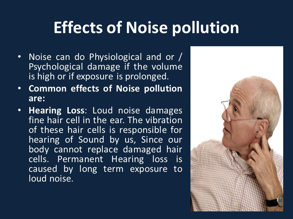 Effects of Noise pollution