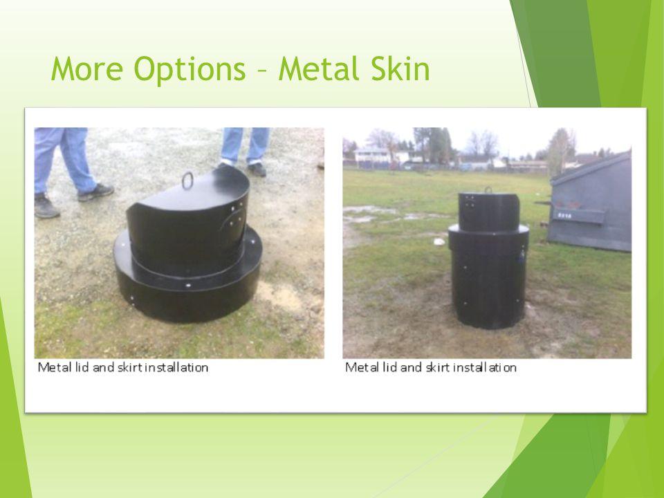 More Options – Metal Skin