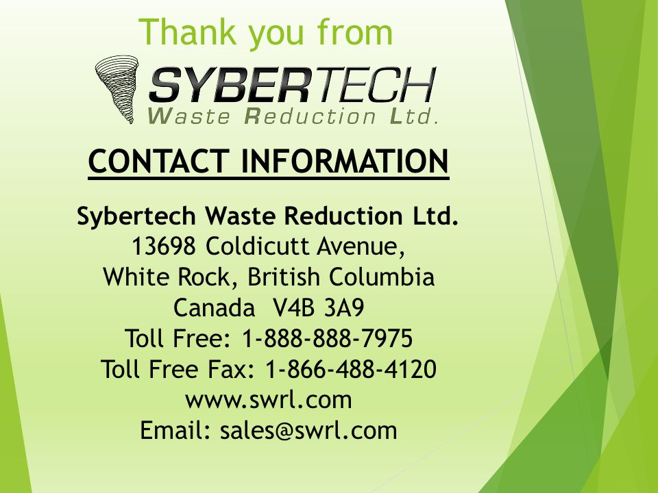 Sybertech Waste Reduction Ltd.