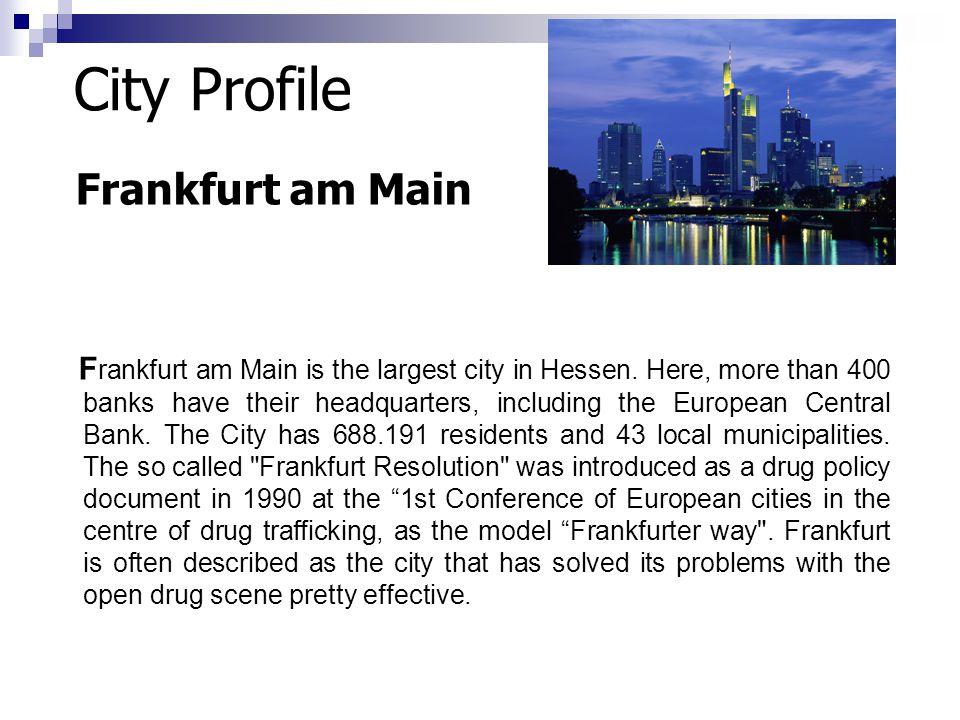 City Profile Frankfurt am Main