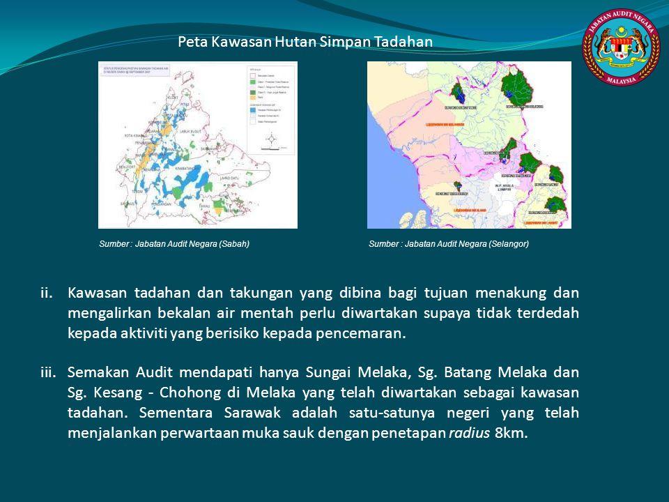 Peta Kawasan Hutan Simpan Tadahan