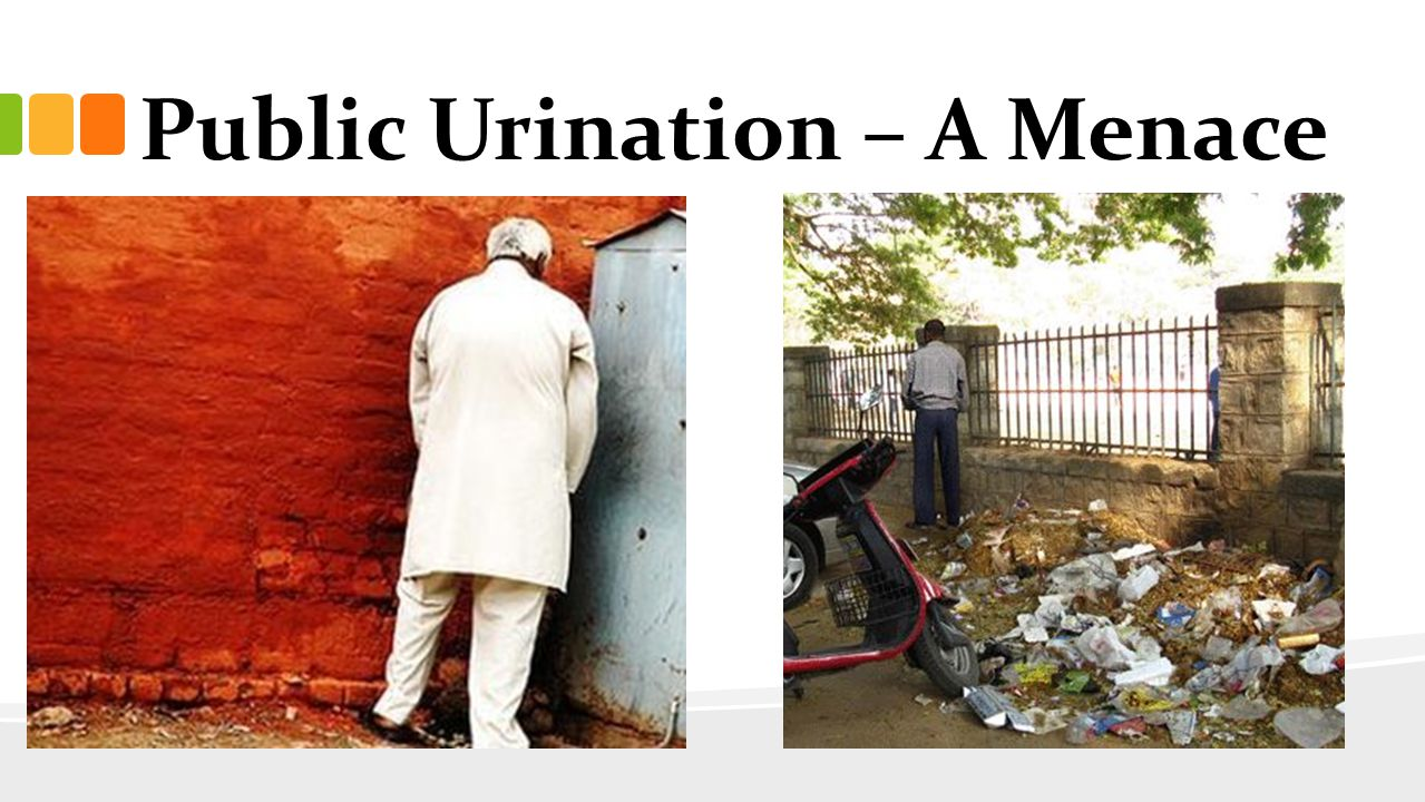 Public Urination – A Menace
