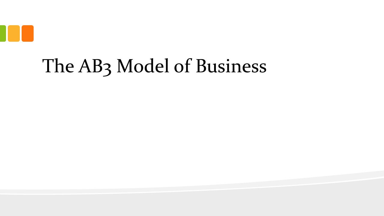 The AB3 Model of Business