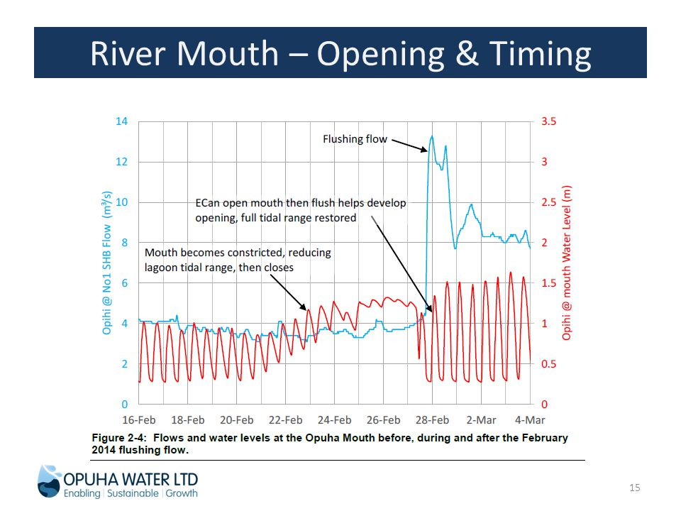 River Mouth – Opening & Timing