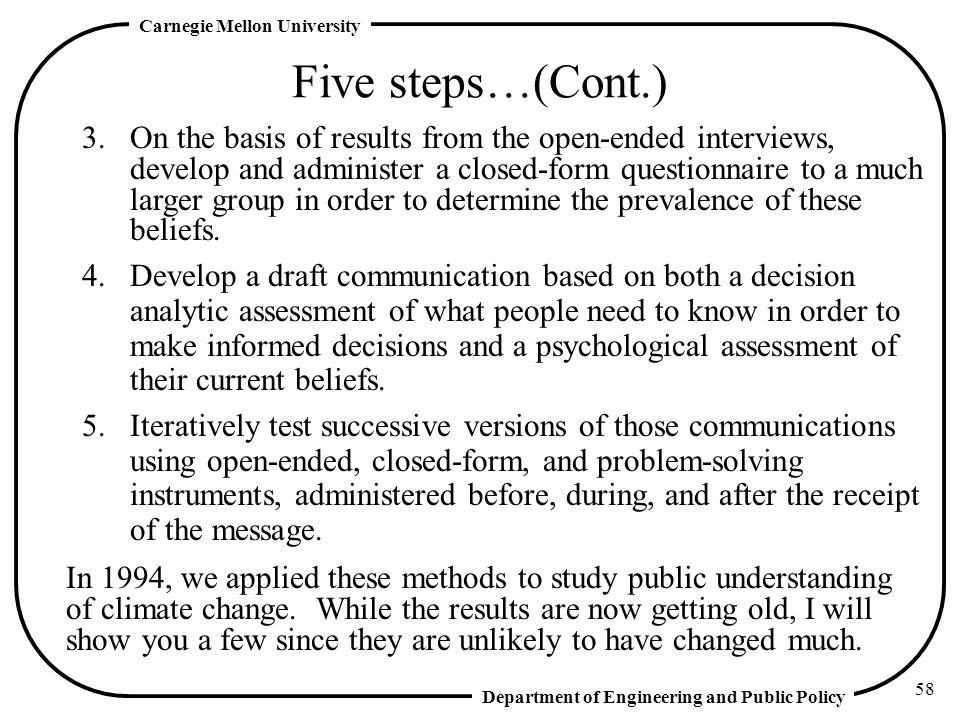 Five steps…(Cont.)