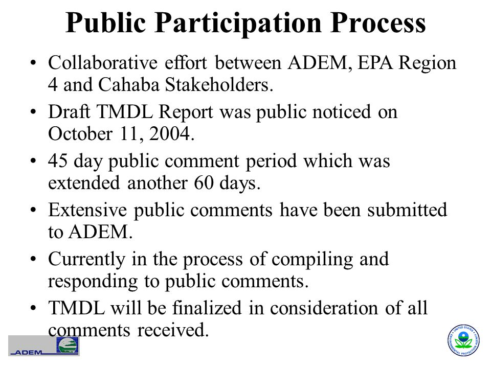 Public Participation Process