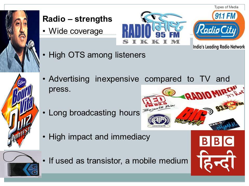 High OTS among listeners