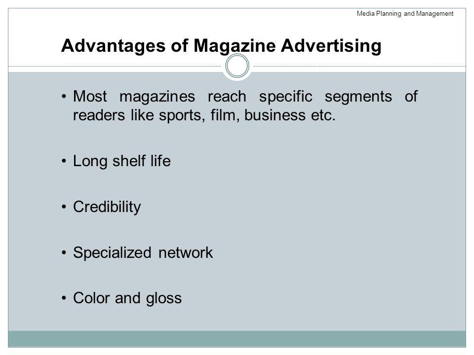 Advantages of Magazine Advertising