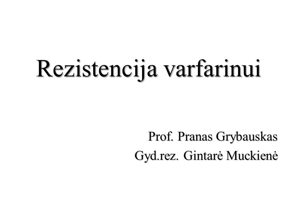 Rezistencija varfarinui