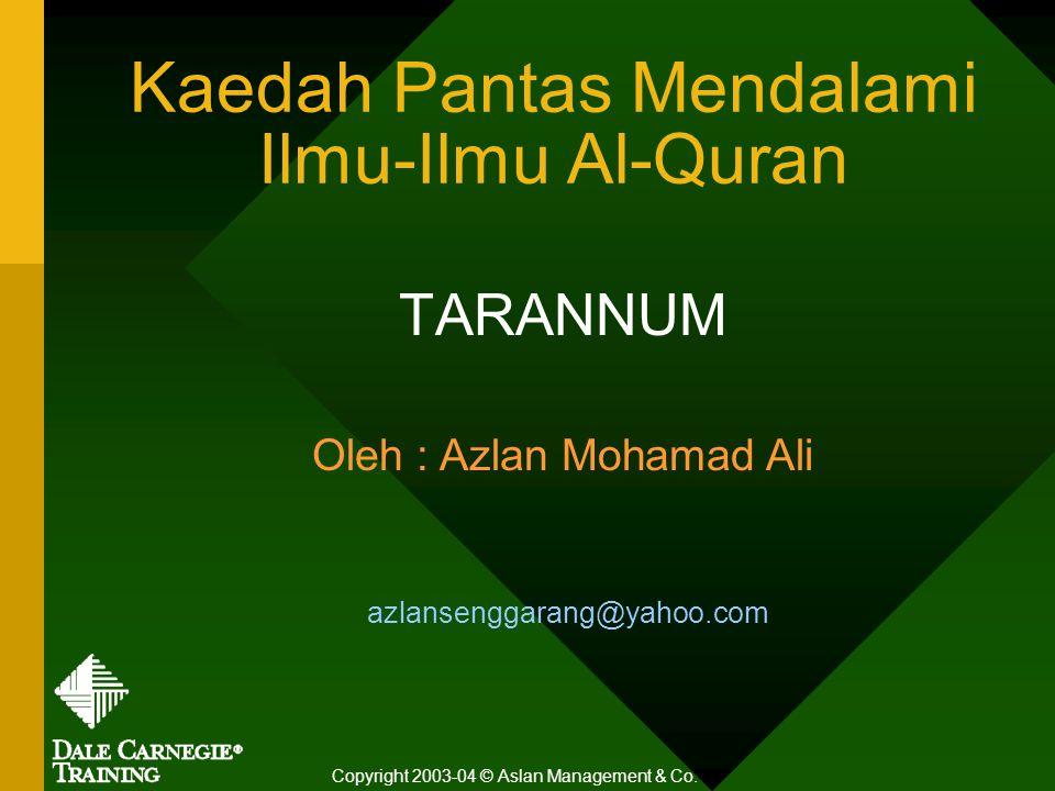 Kaedah Pantas Mendalami Ilmu-Ilmu Al-Quran