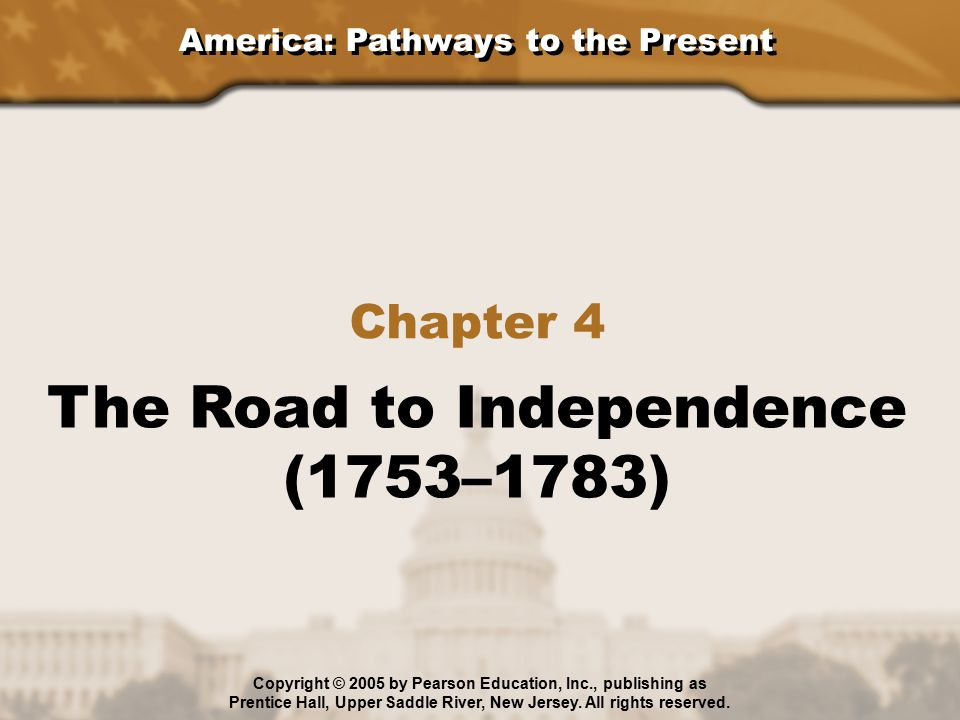 The Road to Independence (1753–1783)