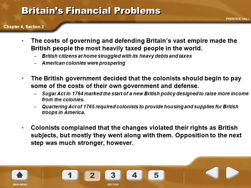 Britain's Financial Problems