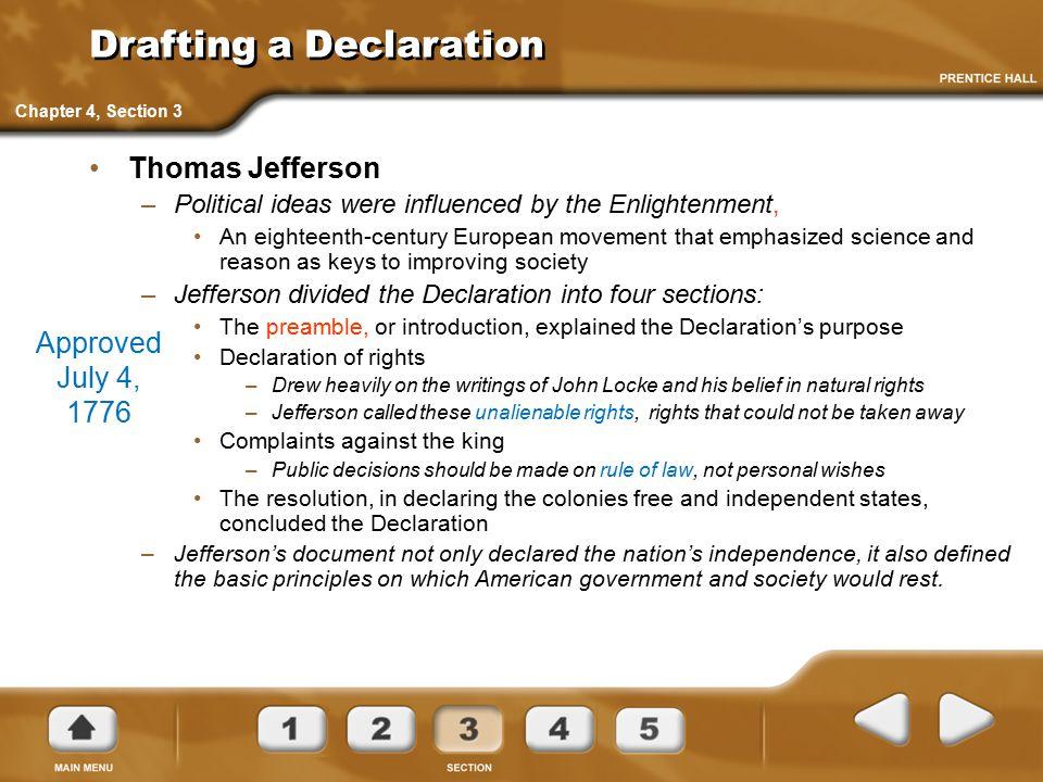 Drafting a Declaration
