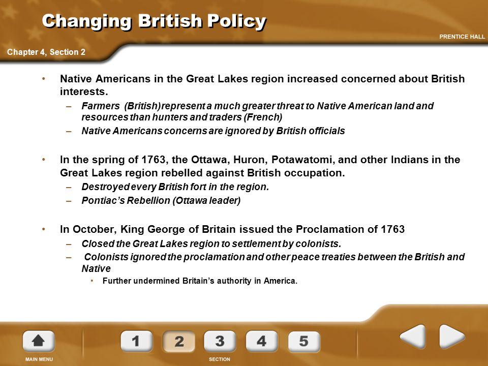 Changing British Policy