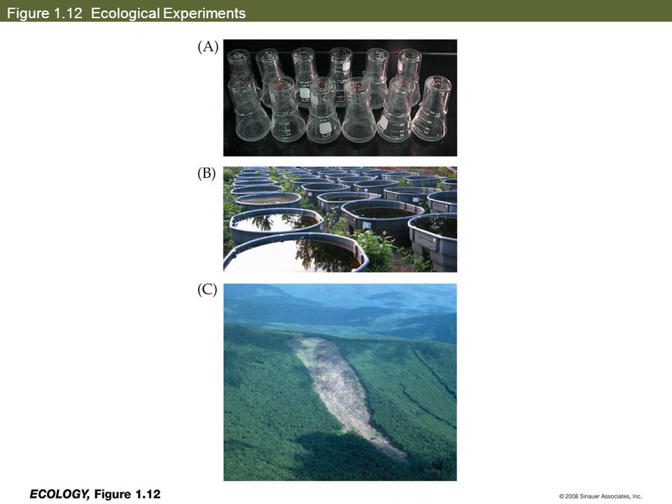 Figure 1.12 Ecological Experiments