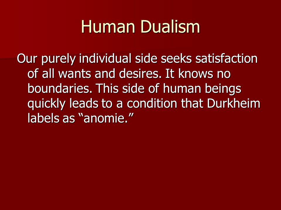 Human Dualism