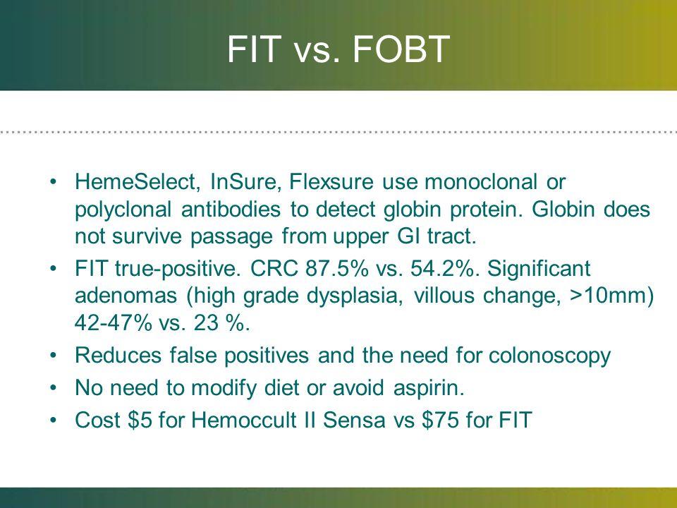 FIT vs. FOBT