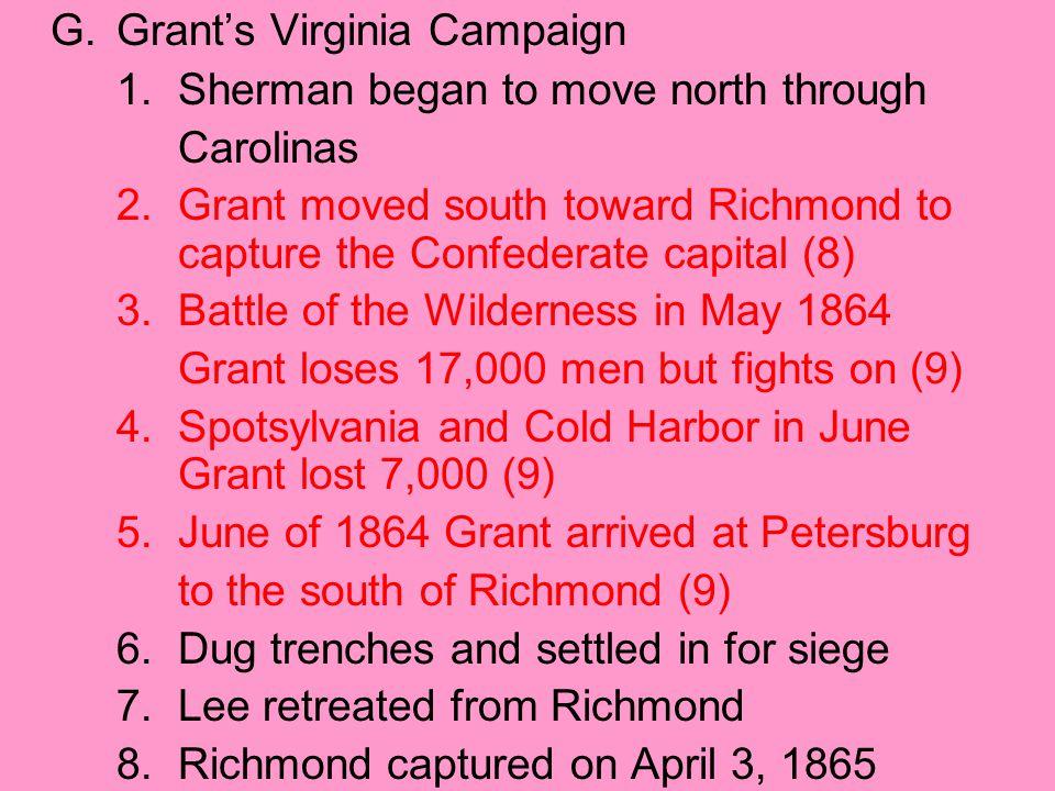 G. Grant's Virginia Campaign