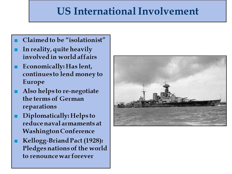 US International Involvement