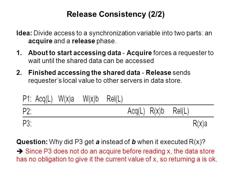 Release Consistency (2/2)