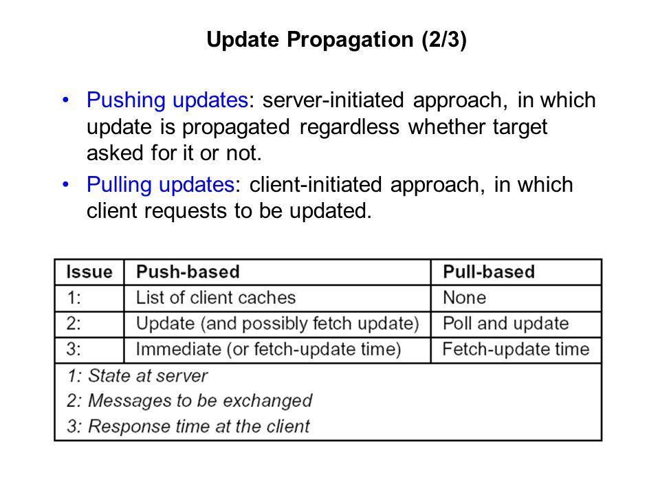 Update Propagation (2/3)