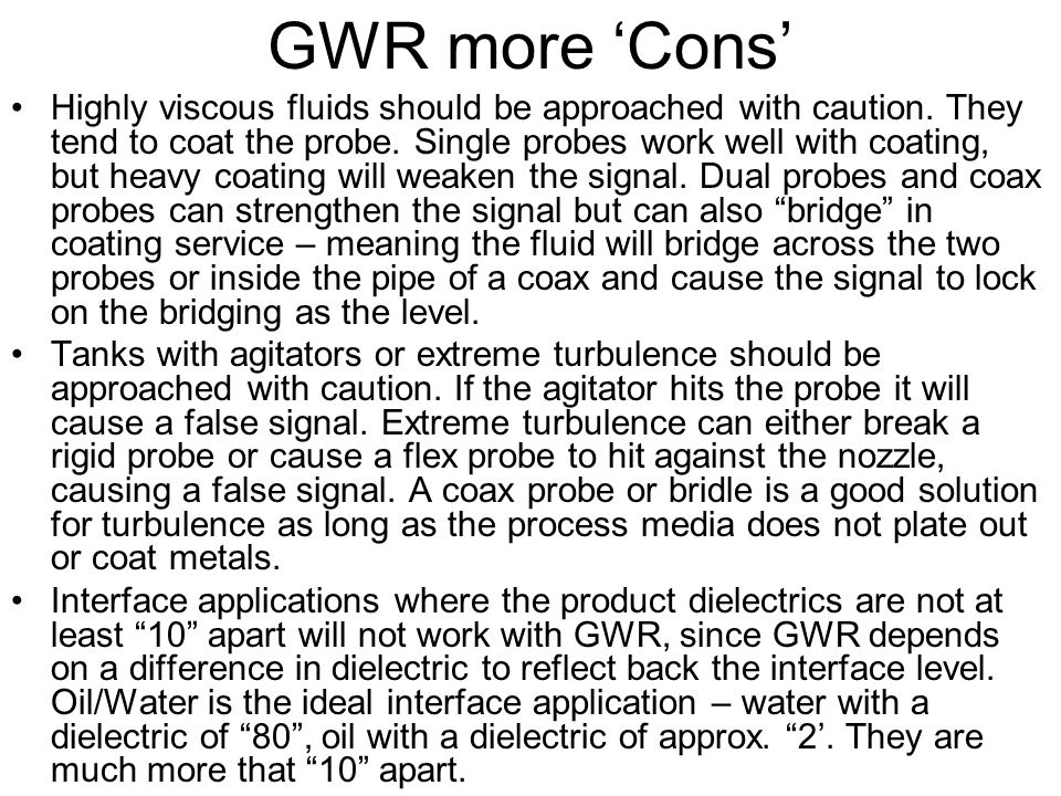 GWR more 'Cons'