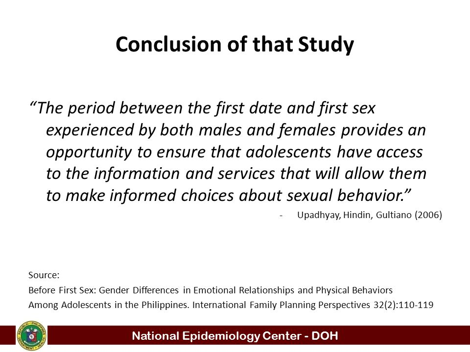 Conclusion of that Study
