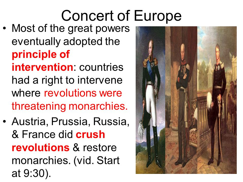 Concert of Europe