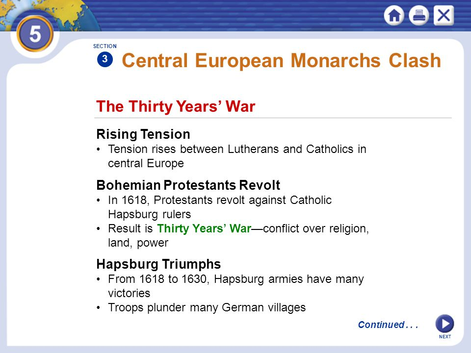 Central European Monarchs Clash