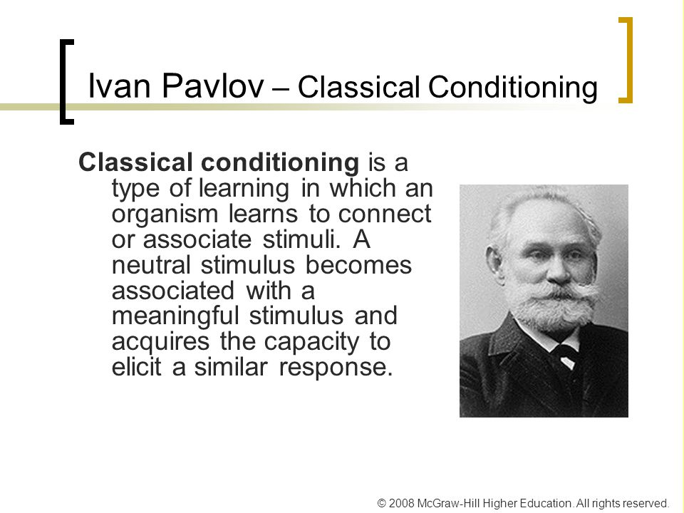Ivan Pavlov – Classical Conditioning