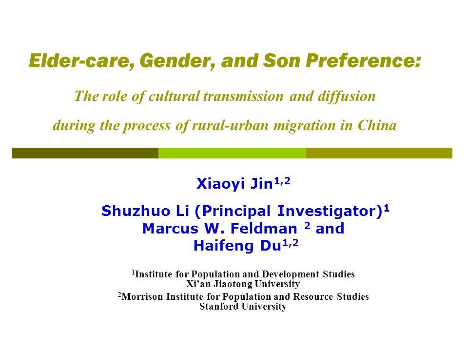 Xiaoyi Jin1,2 Shuzhuo Li (Principal Investigator)1
