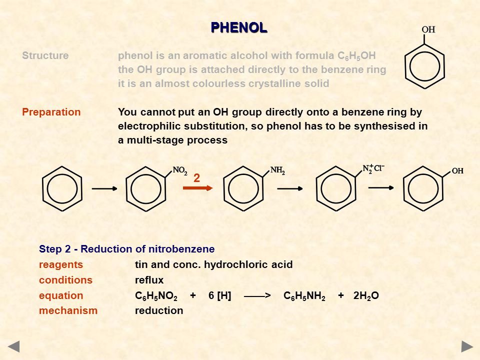 PHENOL 2 Structure phenol is an aromatic alcohol with formula C6H5OH