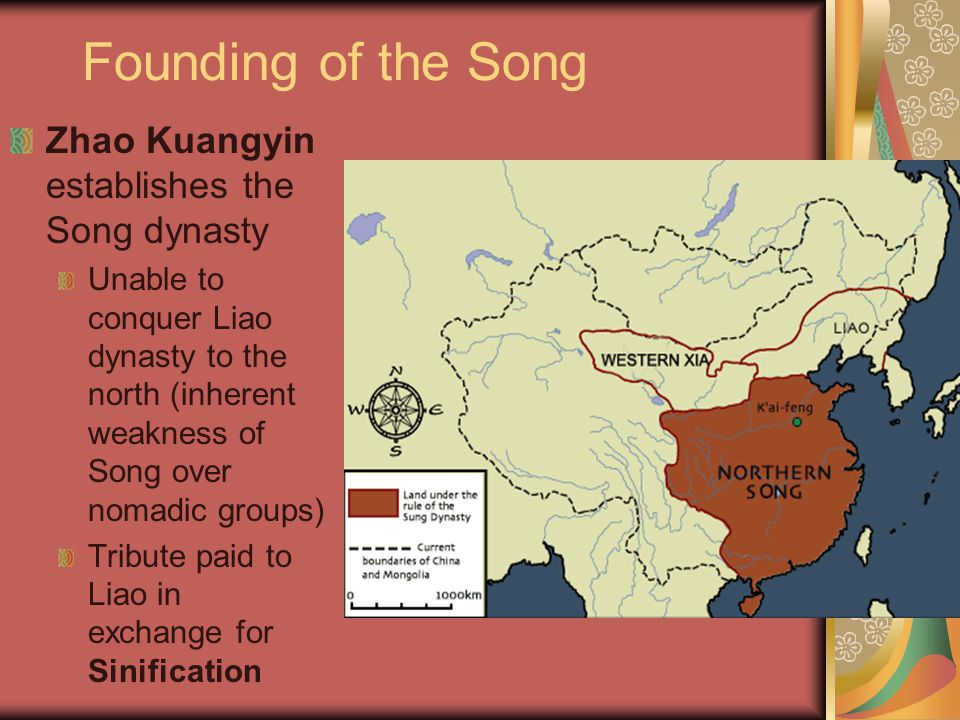 Founding of the Song Zhao Kuangyin establishes the Song dynasty