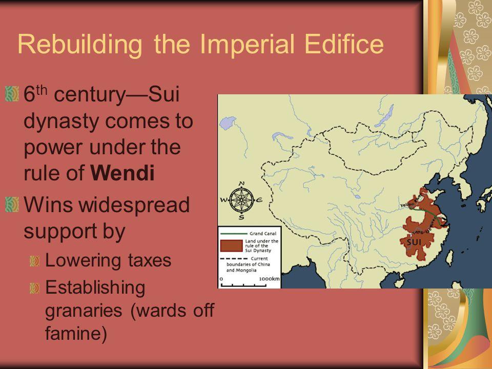 Rebuilding the Imperial Edifice