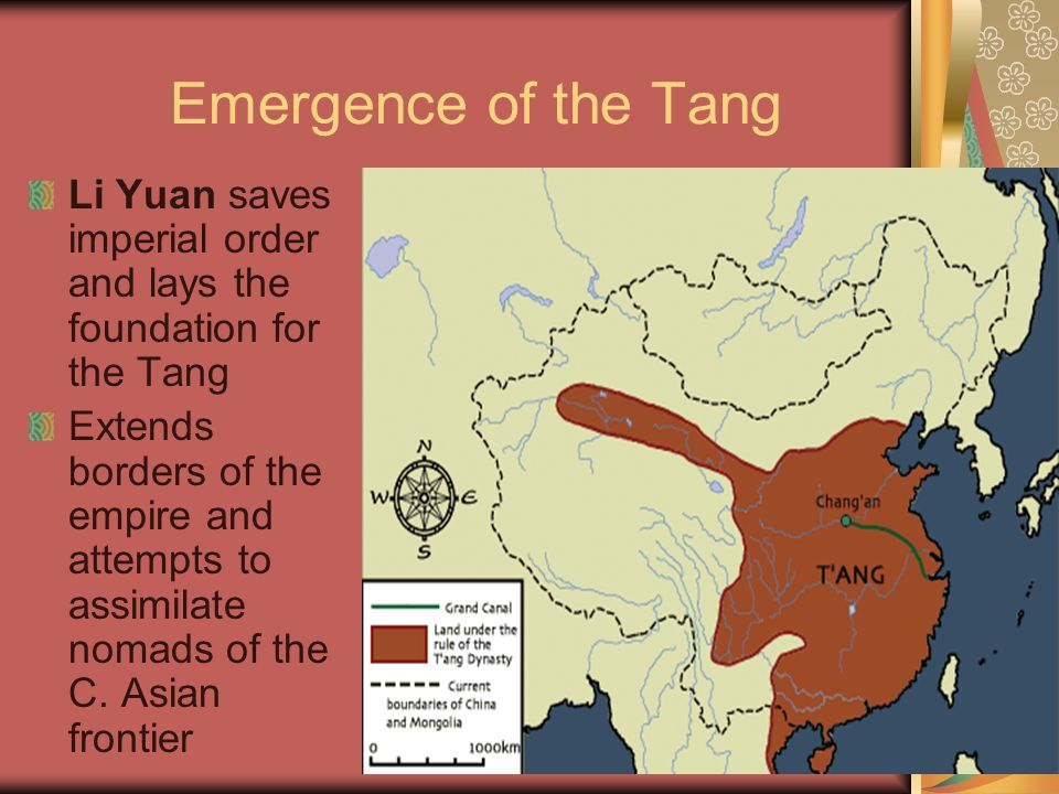 Emergence of the Tang Li Yuan saves imperial order and lays the foundation for the Tang.