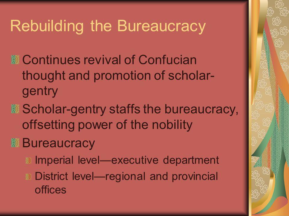 Rebuilding the Bureaucracy