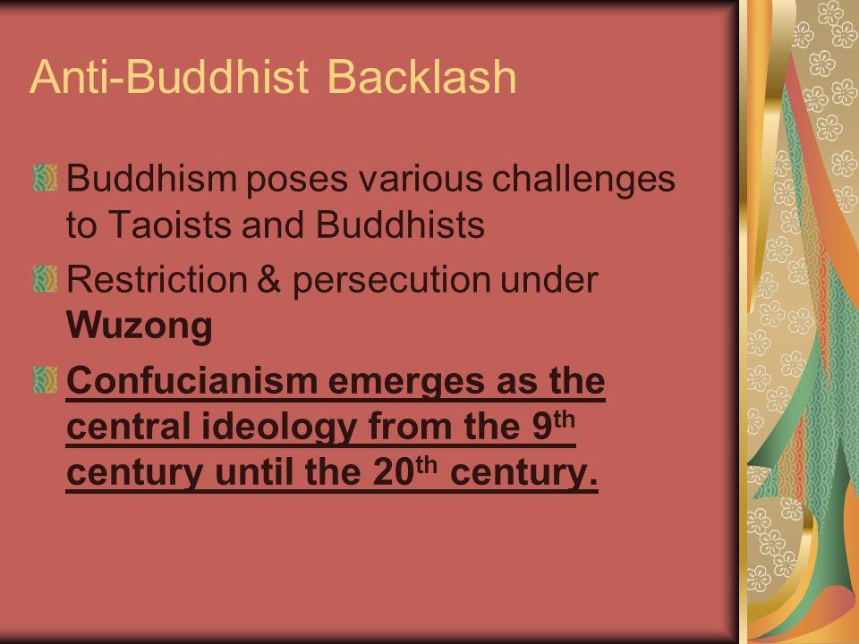 Anti-Buddhist Backlash