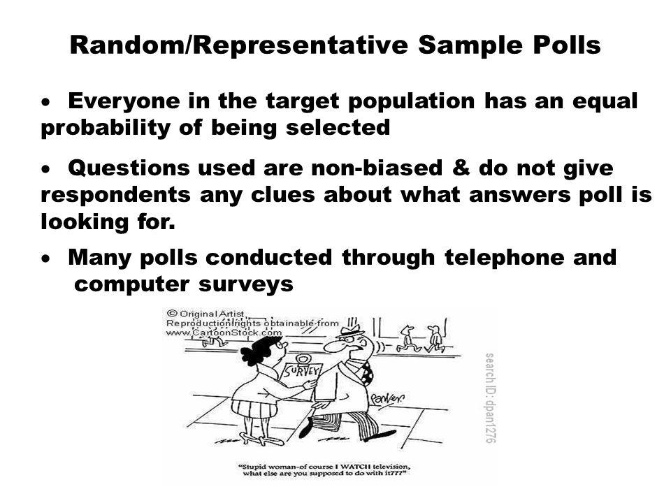Random/Representative Sample Polls
