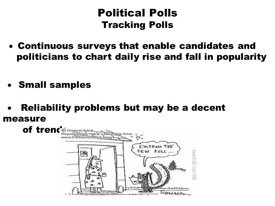 Political Polls Tracking Polls