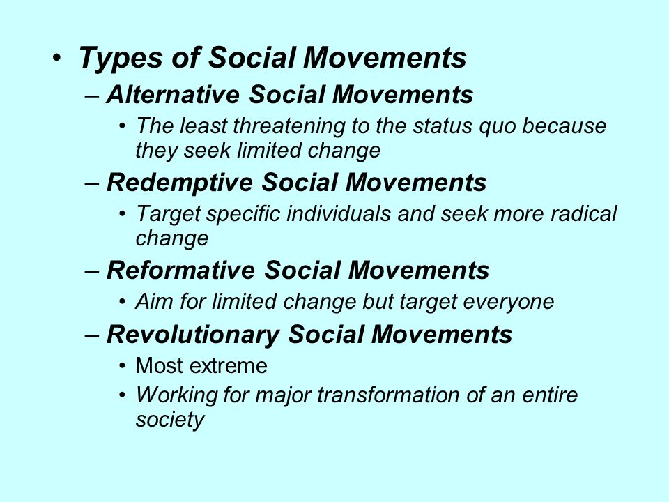 what causes social change in a society
