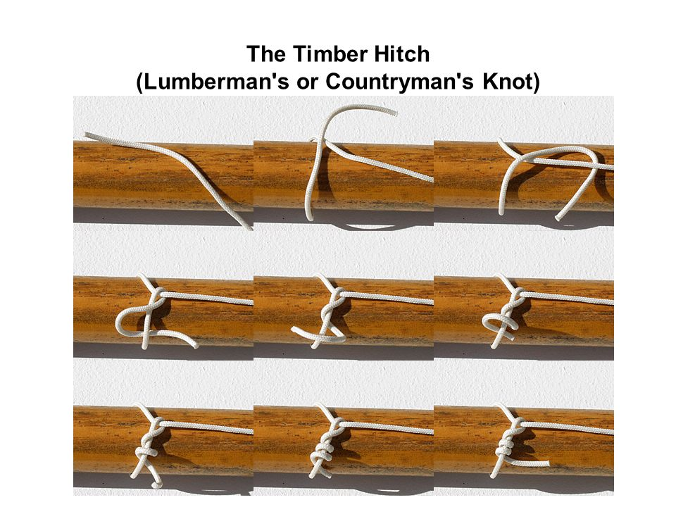 (Lumberman s or Countryman s Knot)