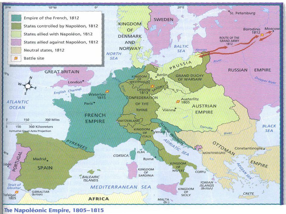 The Napoleonic Empire (1805-1815)