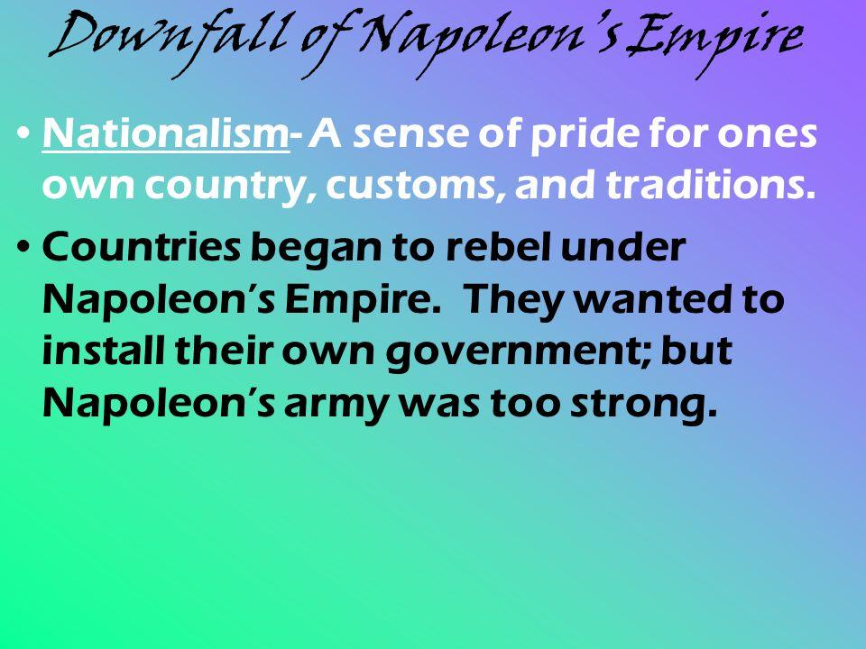 Downfall of Napoleon's Empire