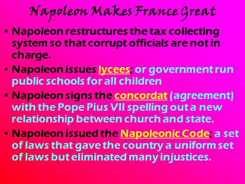 Napoleon Makes France Great