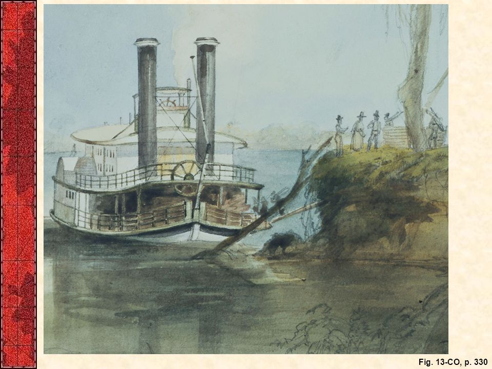 Like Henry Clay Bruce, many emigrants in the 1840s traveled west by steamboat for part of their journey, making the rest of the trip on foot, horseback, wagon, canal boat, or—often—by some combination of means.