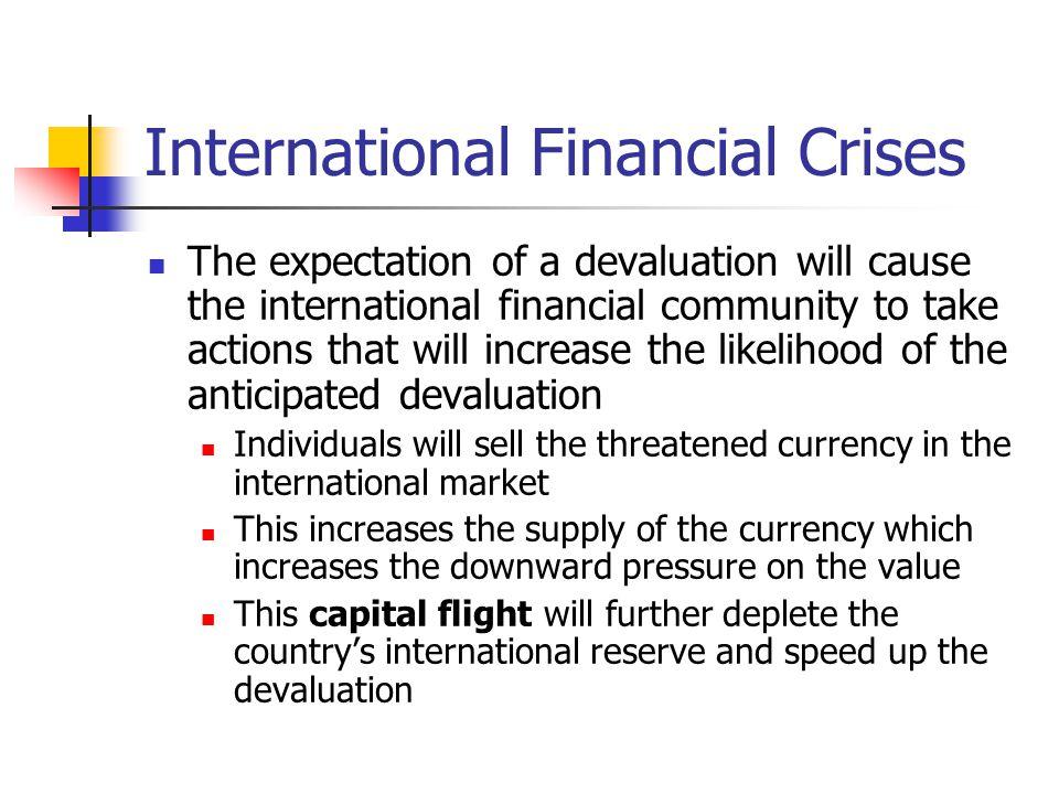 International Financial Crises